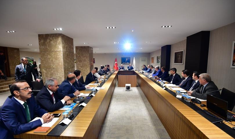 Cumhurbaşkanlığı Sosyal Politikalar Kurulu toplantısı Gaziantep'te yapıldı