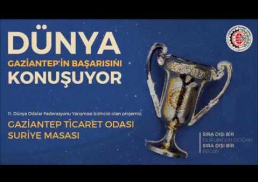 Gaziantep Ticaret Odası Dünya Şampiyonu